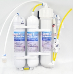 125GALLONS 3STAGE RO REVERSE OSMOSIS SYSTEM