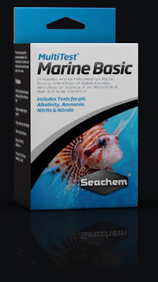 Seachem MultiTest: Marine Basic (5 test in 1 box)